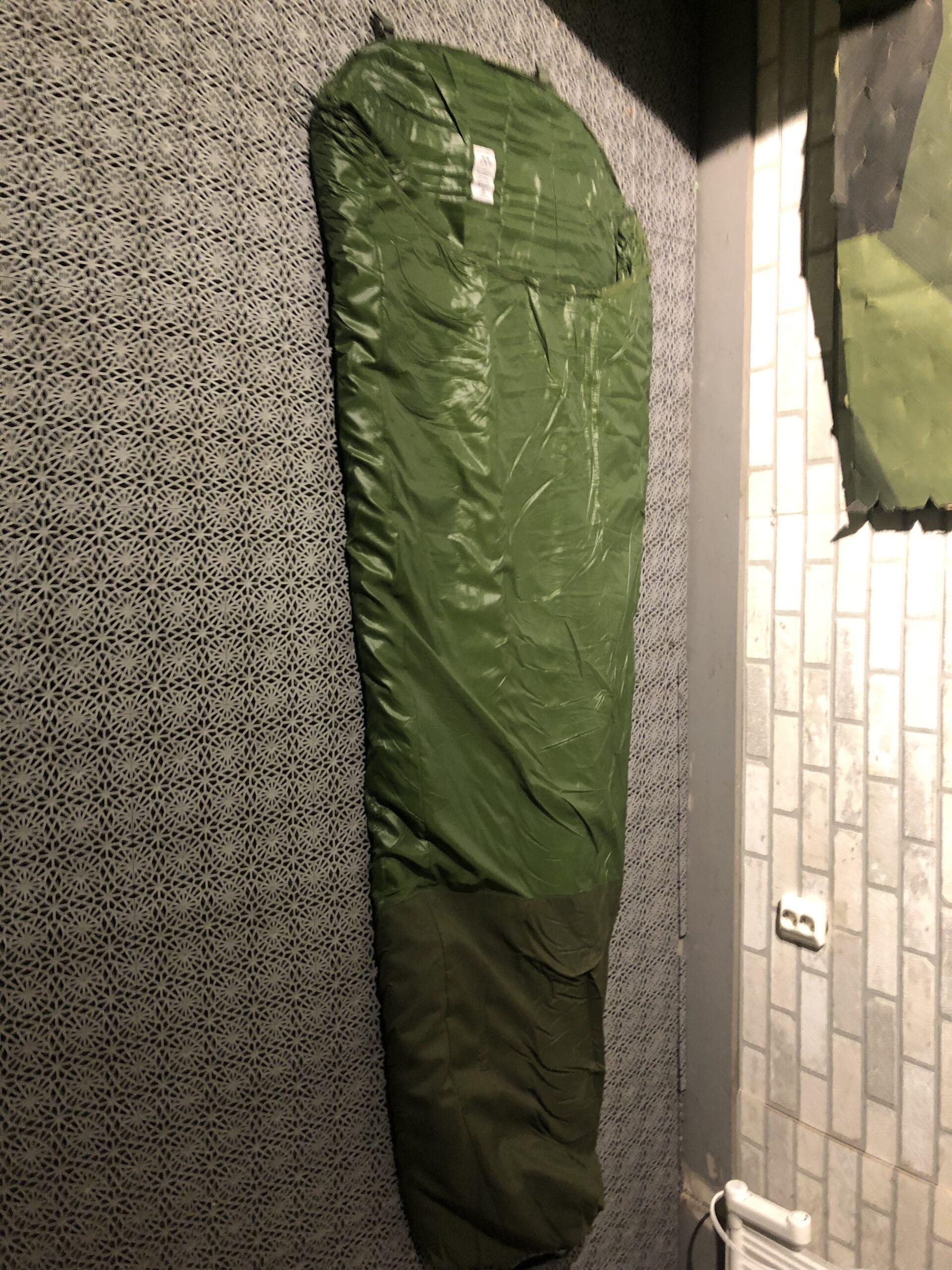 sovsäck orginal nato grön