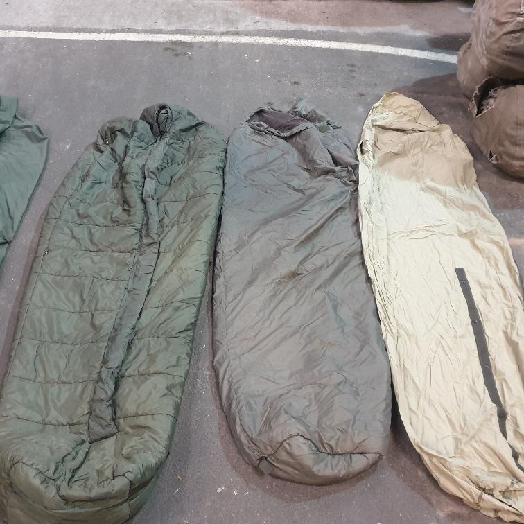 Modulär sovsäck nederländska armé 40 Kvibergs Överskottslager